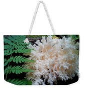 Mushroom Hericium Coralloid Weekender Tote Bag