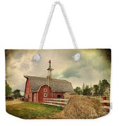 Heritage Village Barn Weekender Tote Bag