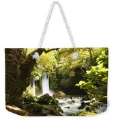 Hermon Stream Nature Reserve Banias Weekender Tote Bag