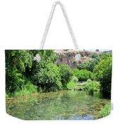 Hermon Stream Nature Reserve Weekender Tote Bag