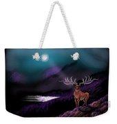 Heroic Landscapes #22- Great Irish Elk Weekender Tote Bag