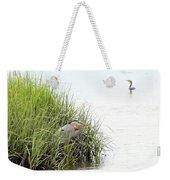 Heron And Cormorant Weekender Tote Bag