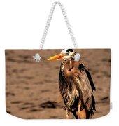 Egret Bad Feather Day Weekender Tote Bag