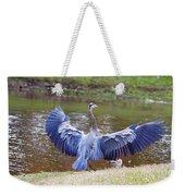 Heron Bank Landing Weekender Tote Bag