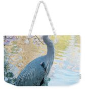 Heron - Beacon Hill Park Weekender Tote Bag