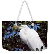 Heron Deep Contemplation Weekender Tote Bag