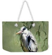 Heron Egret Bird Weekender Tote Bag