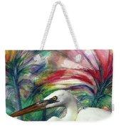 Heron Flair Weekender Tote Bag