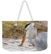 Heron Harpoon Weekender Tote Bag