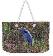 Heron In Marshes Weekender Tote Bag