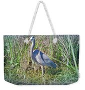 Heron In The Wetlands Weekender Tote Bag