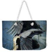 Heron Love  Weekender Tote Bag