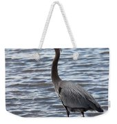 Heron On  Lake Guntersville Weekender Tote Bag