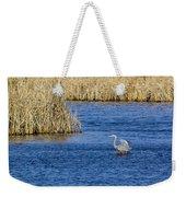 Heron Preening Weekender Tote Bag