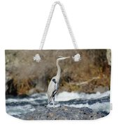 Heron The Rock Weekender Tote Bag