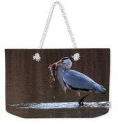 Heron With Perch Weekender Tote Bag