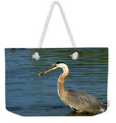 Herons Catch Weekender Tote Bag