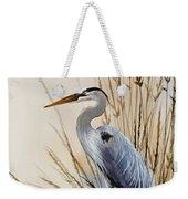 Heron's Solitude Weekender Tote Bag