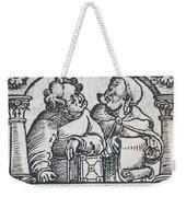 Herophilos, Erasistratus, Ancient Greek Weekender Tote Bag