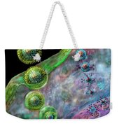 Herpes Virus Replication Weekender Tote Bag