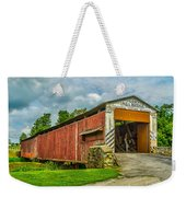 Herr's Mill Bridge - Pa Weekender Tote Bag