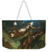 Hesiod And The Muse Weekender Tote Bag