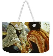 Hesperus The Evening Star Sacred To Lovers Weekender Tote Bag by Sir Joseph Noel Paton