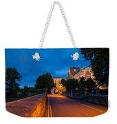 Hexham Abbey At Night Weekender Tote Bag
