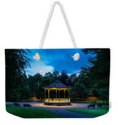 Hexham Bandstand At Night Weekender Tote Bag