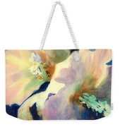 Hibicus Up Close Weekender Tote Bag