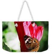 Hibiscus Aflutter Weekender Tote Bag