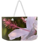 Hibiscus Bloom Pastel Weekender Tote Bag