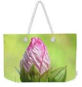 Hibiscus Bud Beauty Weekender Tote Bag