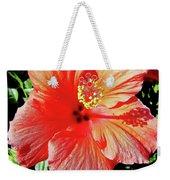 Hibiscus - Dew Covered - Beauty Weekender Tote Bag
