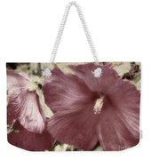 Hibiscus Floral Series  Weekender Tote Bag