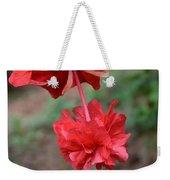 Hibiscus Flower Weekender Tote Bag