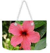 Hibiscus Front Weekender Tote Bag