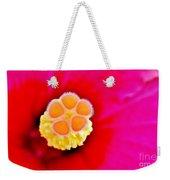 Hibiscus Glow Weekender Tote Bag