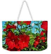 Hibiscus In Naptown Weekender Tote Bag