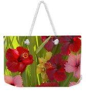 Hibiscus Weekender Tote Bag