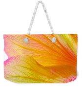 Hibiscus Petals Weekender Tote Bag