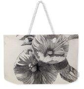 Hibiscus Sketch Weekender Tote Bag