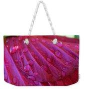 Hibiscus Square Weekender Tote Bag