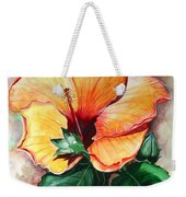 Hibiscus  Sunny Weekender Tote Bag