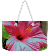 Hibiscus With A Solarize Effect Weekender Tote Bag