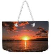 Hickam Sunset Weekender Tote Bag