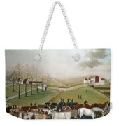 Hicks: Cornell Farm, 1848 Weekender Tote Bag