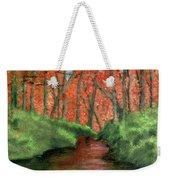 Hidden By Trees Weekender Tote Bag