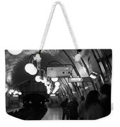 Paris Tube Station Cite - Hidden Kiss Weekender Tote Bag