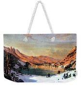 Hidden Lake Western United States Weekender Tote Bag